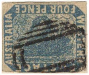 inverted swan francobollo raro mondo