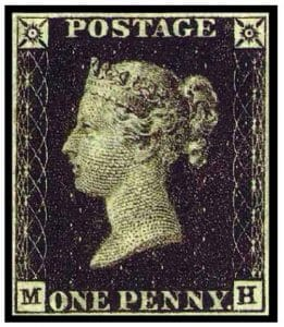penny black francobolli rari mondo